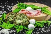 Arancino agli spinaci